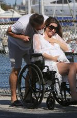 Pregnant RACHEL MCCORD and Rick Schirmer Out in Marina Del Rey 05/04/2020