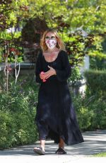 RACHEL ZOE Wearing a Mask Out in Beverly Hills 05/27/2020