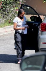 REGINA KING Out and About in Los Feliz 05/09/2020