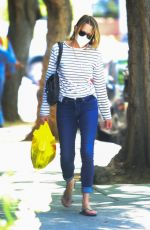 ROBIN WRIGHT Out Shopping in Brentwood 05/21/2020