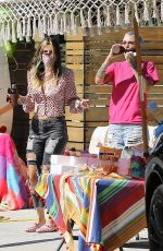 RUBY ROSE and BELLA THORNE at a Birthday Party in Studio City 05/03/2020