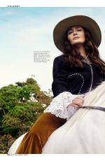 SALMA HAYEK in Instyle Magazine, Germany March 2020