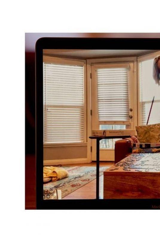 SAMARA WEAVING - Skype Photoshoot, May 2020