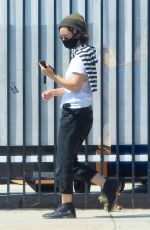 SARA GILBERT Out and About in Los Angeles 05/28/2020