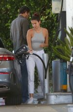 SARA SAMPAIO at a Gas Station in West Hollywood 04/30/2020