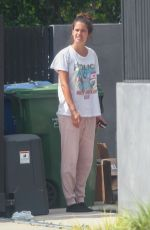 SARA SAMPAIO Taking Trash Out in Los Angeles 05/11/2020