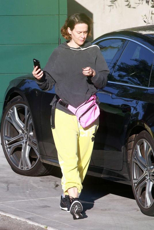 SARAH PAULSON Out and About in West Hollywood 05/28/2020