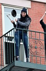SARAH SILVERMAN Serves Her Daily Salute to Frontline Workers in New York 05/11/2020