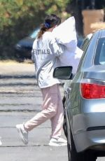 SELENA GOMEZ Packing Up Some Luggage in Los Angeles 05/09/2020