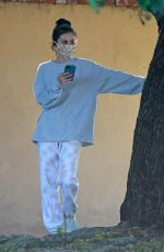 SELENA GOMEZ Wearing Mask Out in Los Angeles 05/15/2020