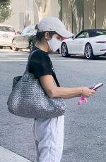 SELMA BLAIR Leaves a Medical Building in Los Angeles 05/21/2020
