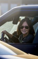 SHANNEN DOHERTY Out Driving in Malibu05/08/2020