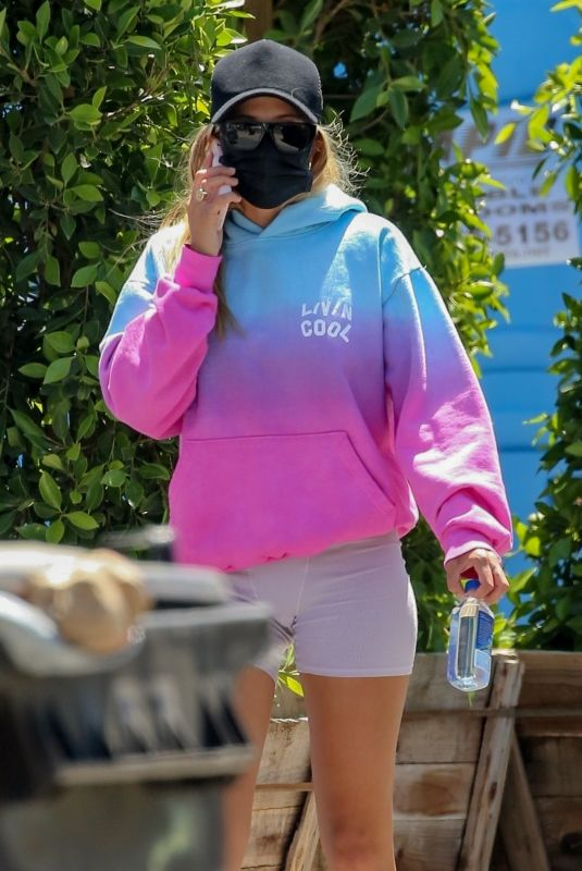 SOFIA RICHIE Out and About in Malibu 05/20/2020