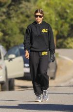 SOFIA RICHIE Out Hiking in Malibu 05/14/2020