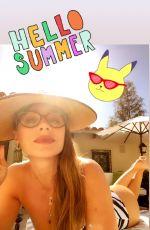 SOFIA VERGARA in Swimsuit - Instagram Photos 05/24/2020