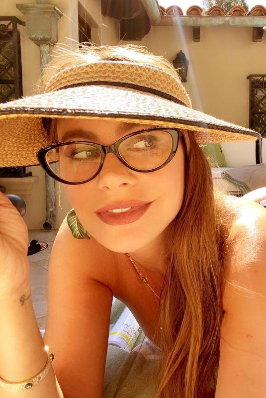 SOFIA VERGARA in Swimsuit – Instagram Photos 05/24/2020