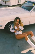 SOMMER RAY at a Photoshoot - Instagram Photos 05/22/2020