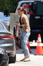 SOPHIA BUSH Out and About in Beverly Hills 05/14/2020