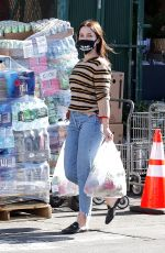 SOPHIA BUSH Out Shopping in West Hollywood 05/21/2020
