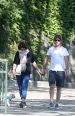 SOPHIE MARCEAU Out and About in Paris 05/22/2020