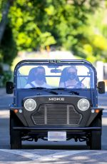 SOPHIE TURNER and Joe Jonas Out Driving in Los Angeles 05/15/2020