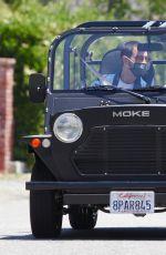 SOPHIE TURNER and Joe Jonas Out Driving in Los Angeles 05/23/2020
