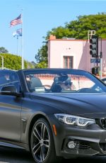 SOPHIE TURNER and Joe Jonas Out Driving in Pacific Palisades 05/19/2020