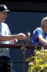 STELLA MAXWELL Hangs Fairy Lights to Celebrate her 30th Birthday in Los Angeles 05/15/2020