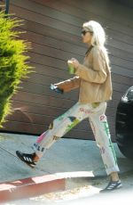 STELLA MAXWELL Returns to Her Home in Los Angeles 05/11/2020
