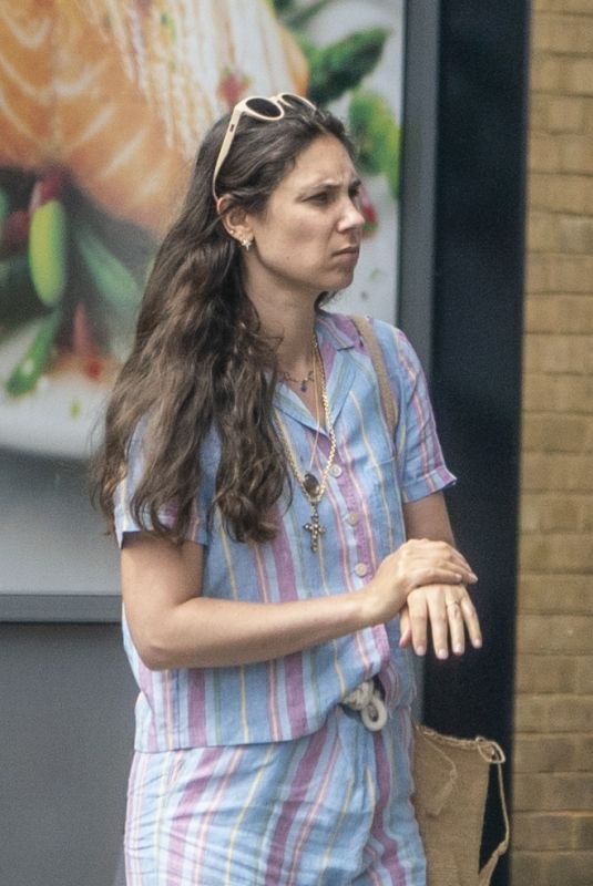 TATIANA SANTO DOMINGO Out and About in London 05/26/2020