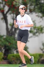 TONI GARRN Out Jogging in New York 05/05/2020