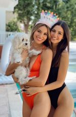 VICTORIA JUSTICE and MADISON REED in Swimsuits - Instagram Photos 05/28/2020