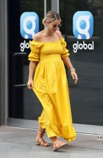 VOGUE WILLIAMS Arrives at Global Radio in London 05/24/2020