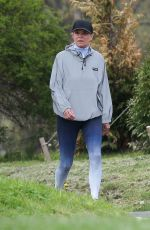 YOLANDA HADID Out with a Friends in New Hope 05/03/2020
