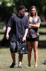 ZARA MCDERMOTT Out at a Park in London 05/28/2020