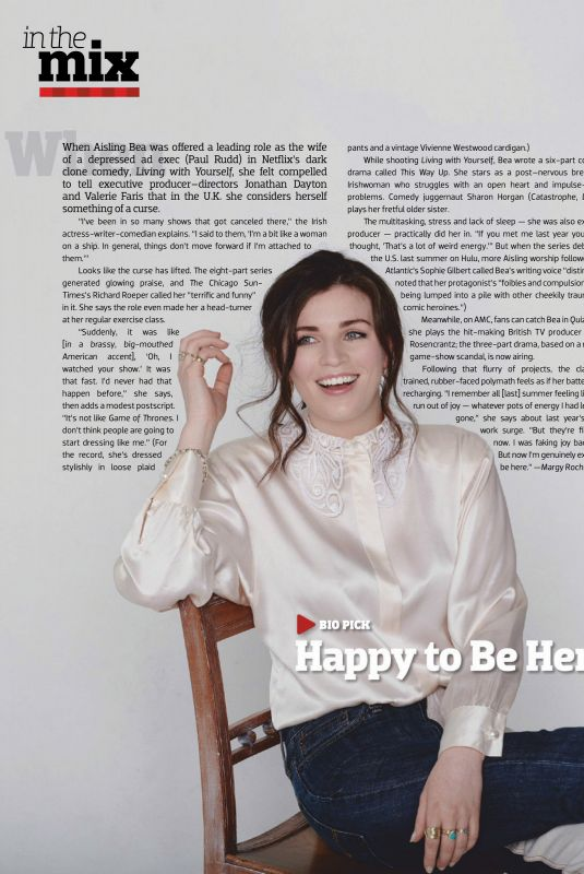 AISLING BEA in Emmy Magazine, May 2020