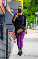 ALESSANDRA AMBROSIO Arrives at Pilates Class in Santa Monica 06/20/2020