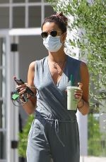 ALESSANDRA AMBROSIO Out and About in Malibu 06/25/2020