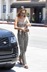 ALESSANDRA AMBROSIO Out for Lunch in Santa Monica 06/19/2020
