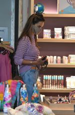 ALESSANDRA AMBROSIO Out Shopping in Brentwood 06/23/2020