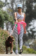 ALESSANDRA AMBROSIO Out with Her Dog in Pacific Palisades 06/02/2020