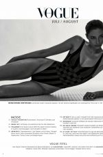 ALEXANDRA AGOSTON in Vogue Magazine, Germany July 2020