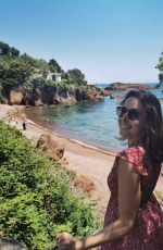 ALIZE CORNET in a Yellow Bikini at a Beach 05/28/2020