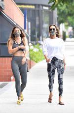 ALLESANDRA AMBROSIO at a Gym in Hollywood 06/19/2020