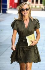 AMANDA HOLDEN Leaves Heart Radio in London 06/02/2020