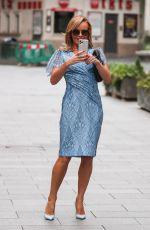 AMANDA HOLDEN Leaves Heart Radio in London 06/29/2020