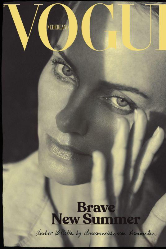 AMBER VALLETTA in Vogue Magazine, Netherlands July/August 2020