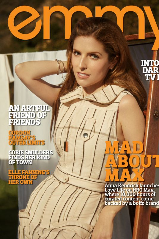 ANNA KENDRICK in Emmy Magazine, May 2020