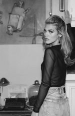 ANNALYNNE MCCORD at a Black and White Photoshoot 05/03/2020