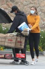 APRIL LOVE GEARY Out Shopping in Malibu 06/18/2020